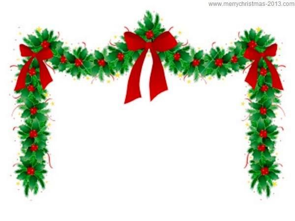 Free Holiday Illustration. christmas clipart borders