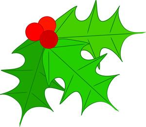 Free Holly Clip Art Image: .-Free Holly Clip Art Image: .-3