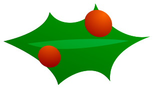 Free Holly Clipart - Public Domain Christmas clip art, images and