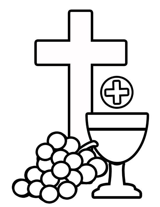 Communion Clip Art Girl