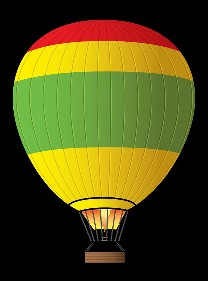 Free Hot Air Balloon Clip Art