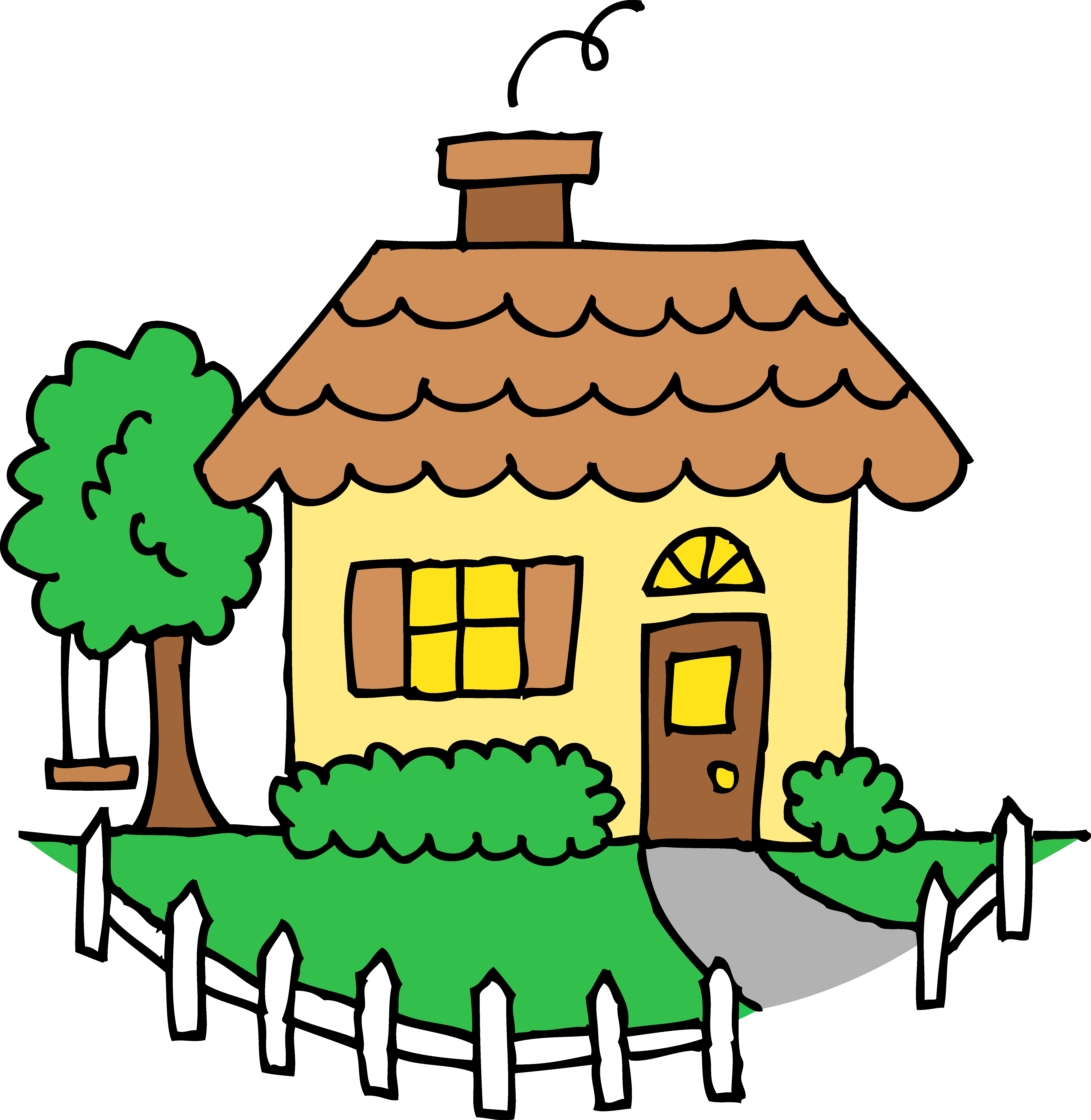 Free House Clipart - cliparta - Clip Art House