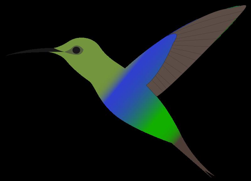 Free Hummingbird Clip Art
