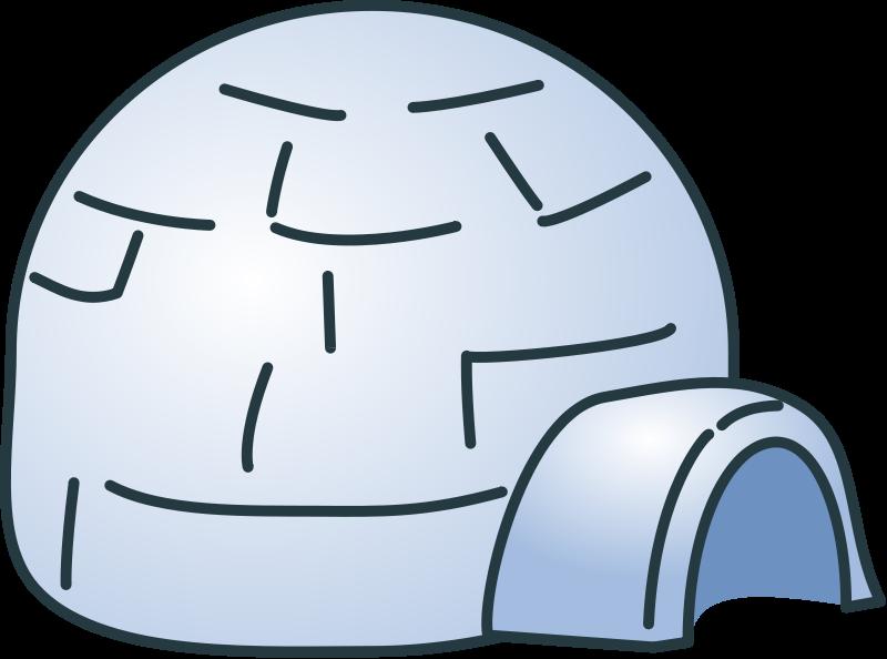 Free Igloo Clip Art-Free Igloo Clip Art-8