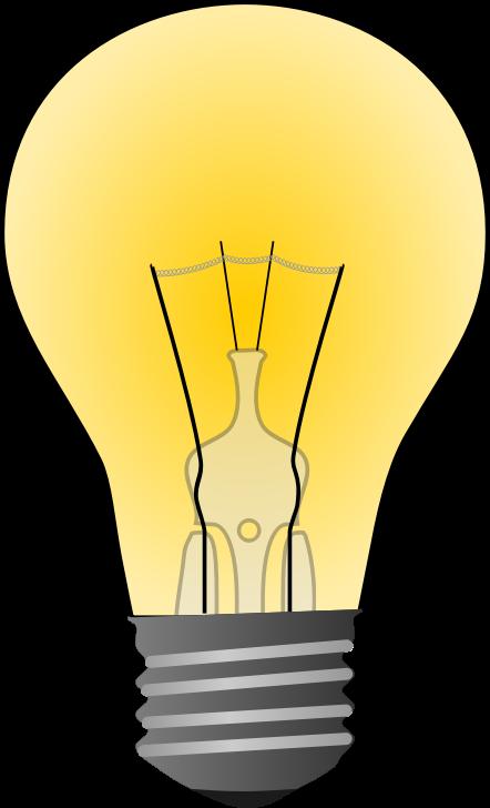 Free Incandescent Light Bulb Clip Art