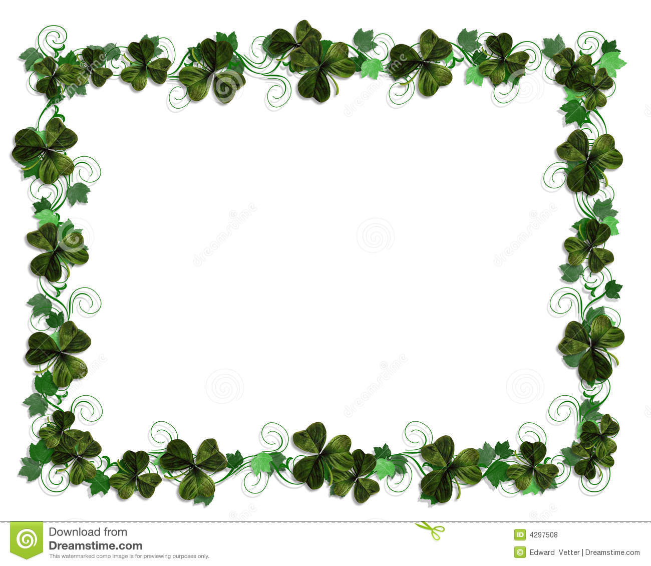 Free Irish Borders Clipart