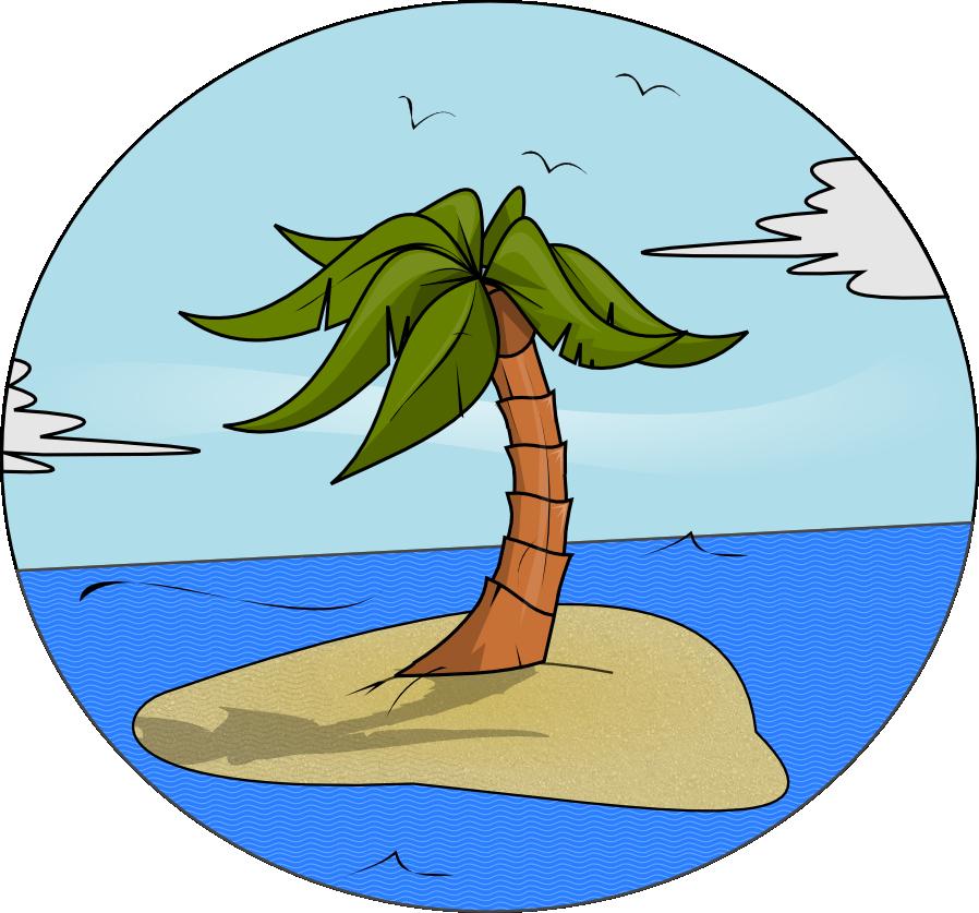 Free Island Paradise Clip Art-Free Island Paradise Clip Art-1