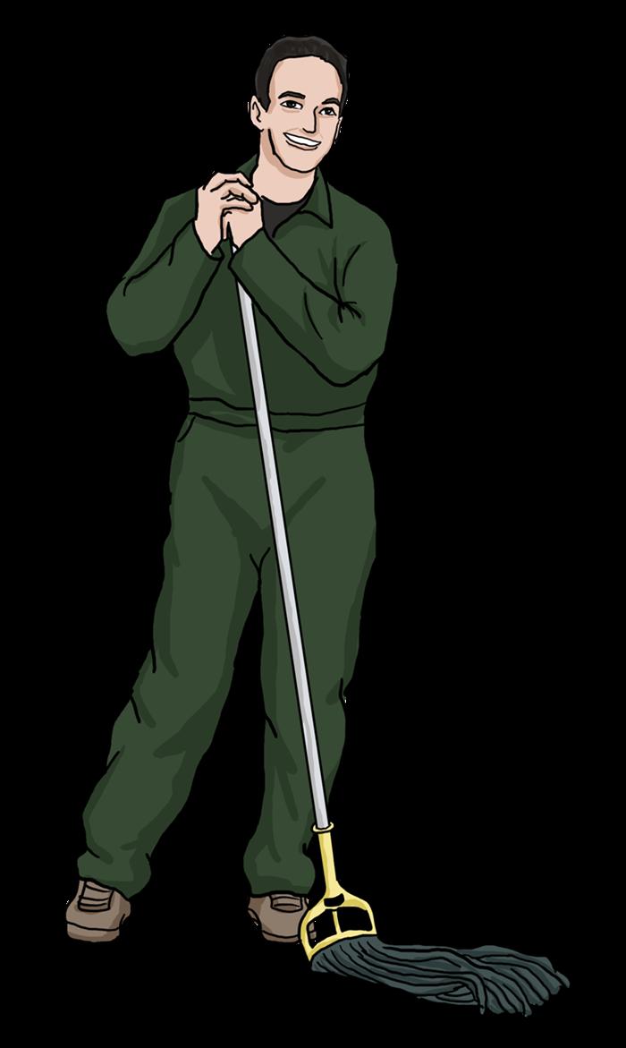 Free Janitor Clip Art-Free Janitor Clip Art-3
