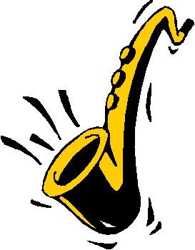 Free jazz clip art clipart image