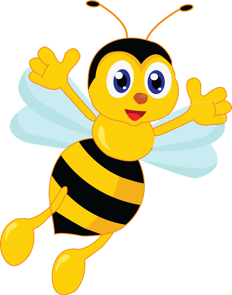 Free Jolly Cartoon Bee Clip Art u0026middot; bee20
