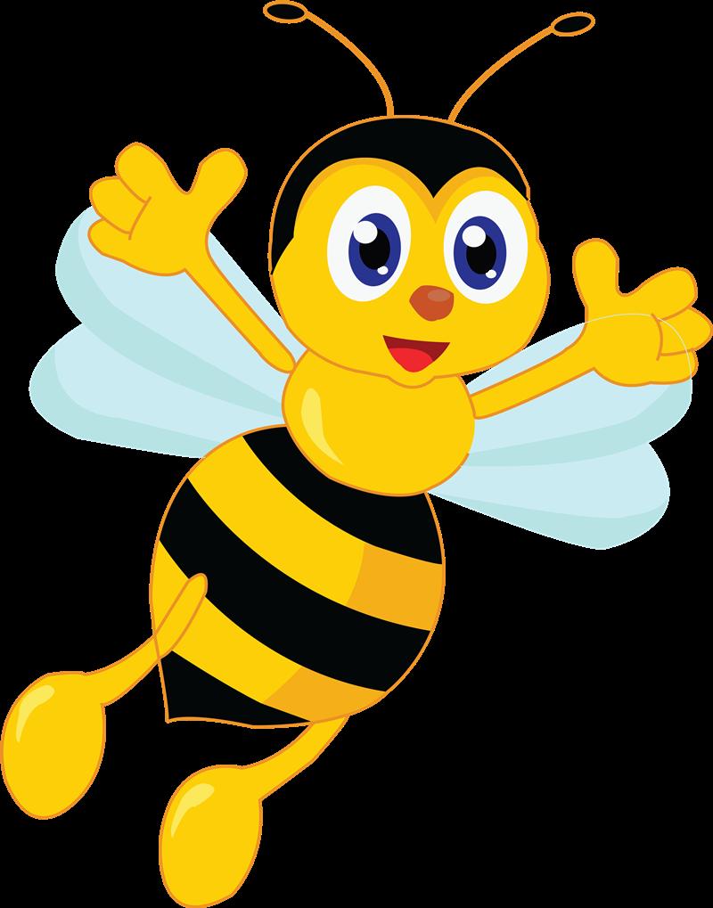 Free Jolly Cartoon Bee Clip Art u0026middot; bee20