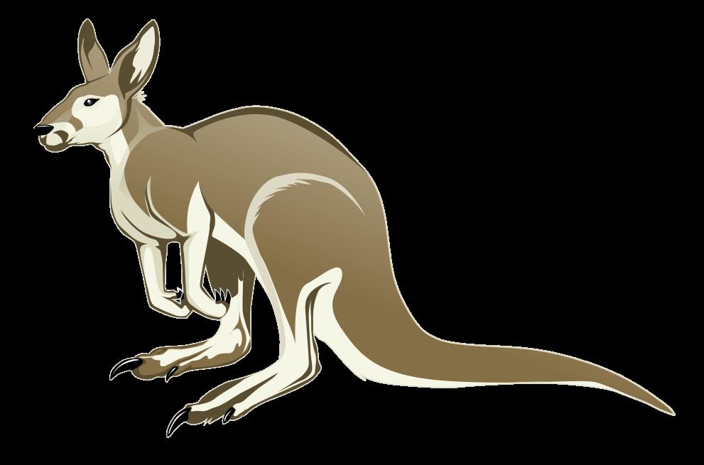 Free Kangaroo Clip Art U0026middot; Kang-Free Kangaroo Clip Art u0026middot; kangaroo4-6
