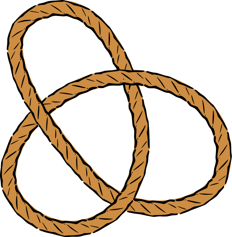 Free Knotted Rope Clip Art