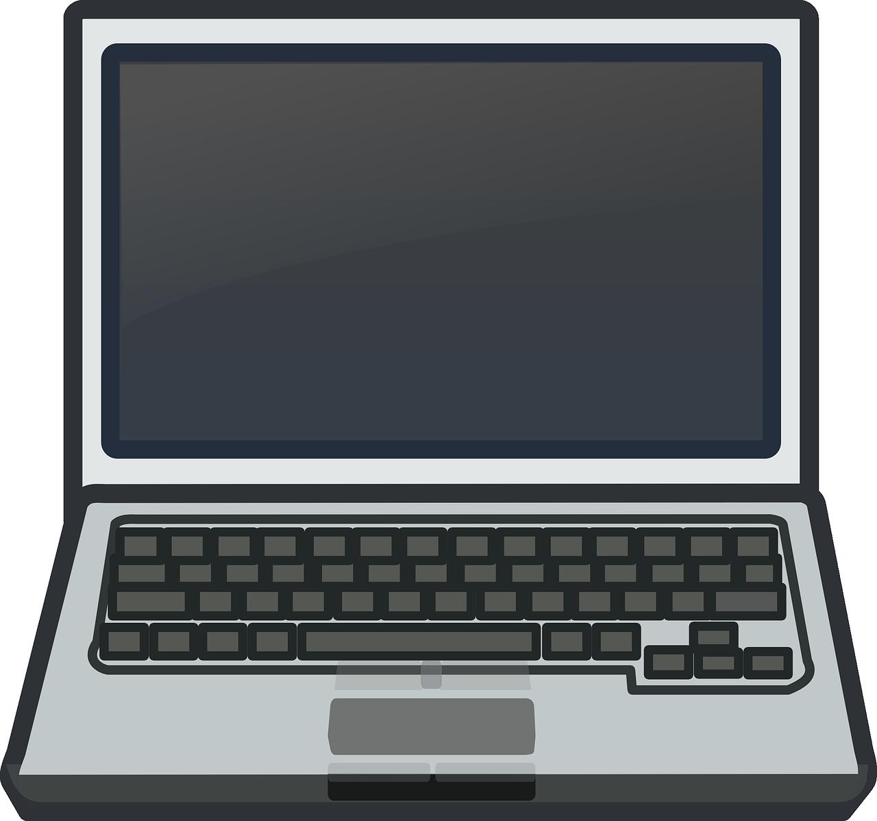 Free Laptop Clip Art