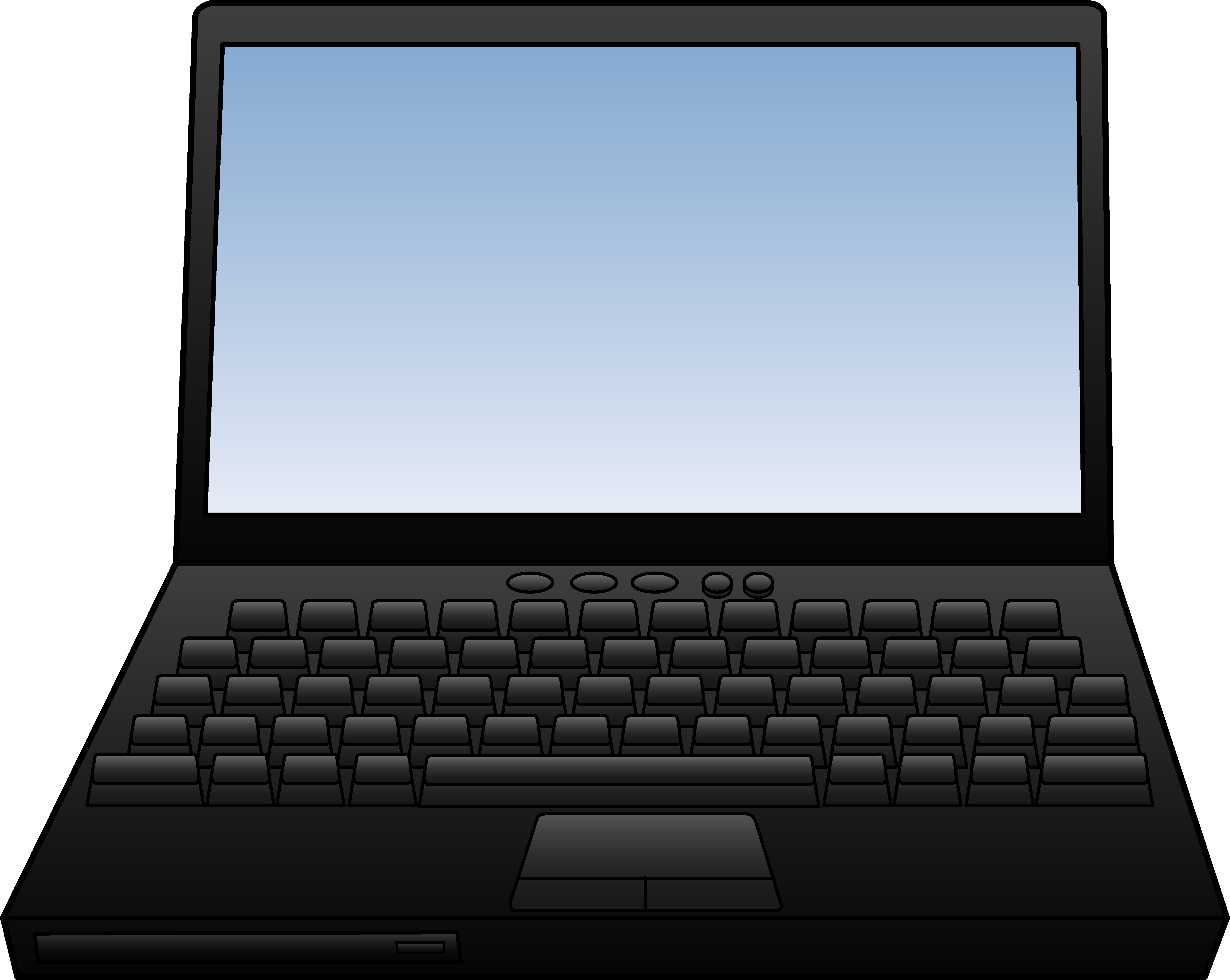 Free Laptop Clipart Free Clipart Graphic-Free Laptop Clipart Free Clipart Graphics Image And Photos-2