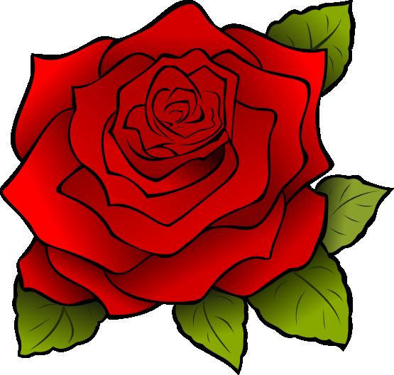 Free Large Red Rose Clip Art-Free Large Red Rose Clip Art-1