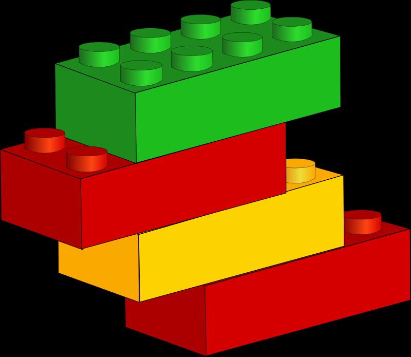 Free Lego Blocks Clip Art