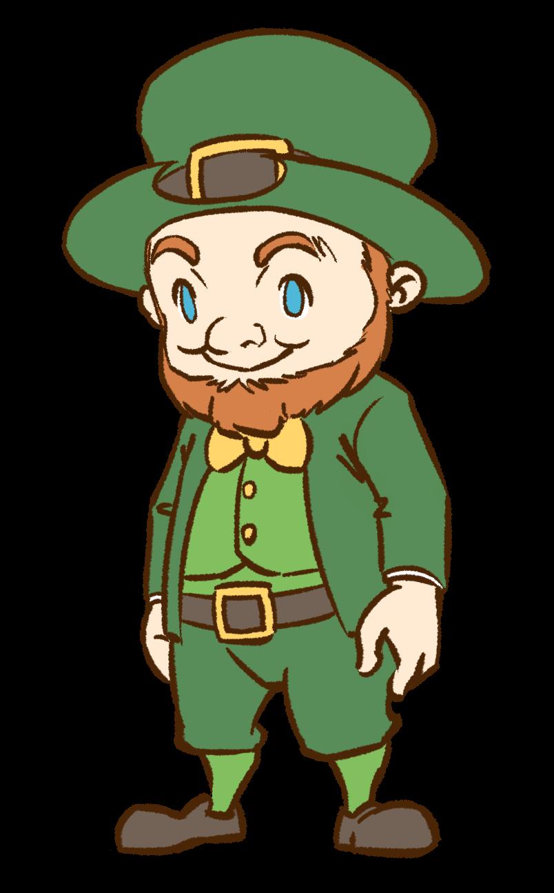 Free Leprechaun Clip Art u0026middot; leprechaun4