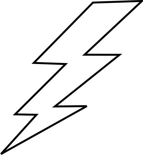 free lightning bolt stencil .-free lightning bolt stencil .-5
