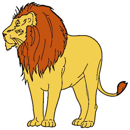 Free lion clipart clip art .