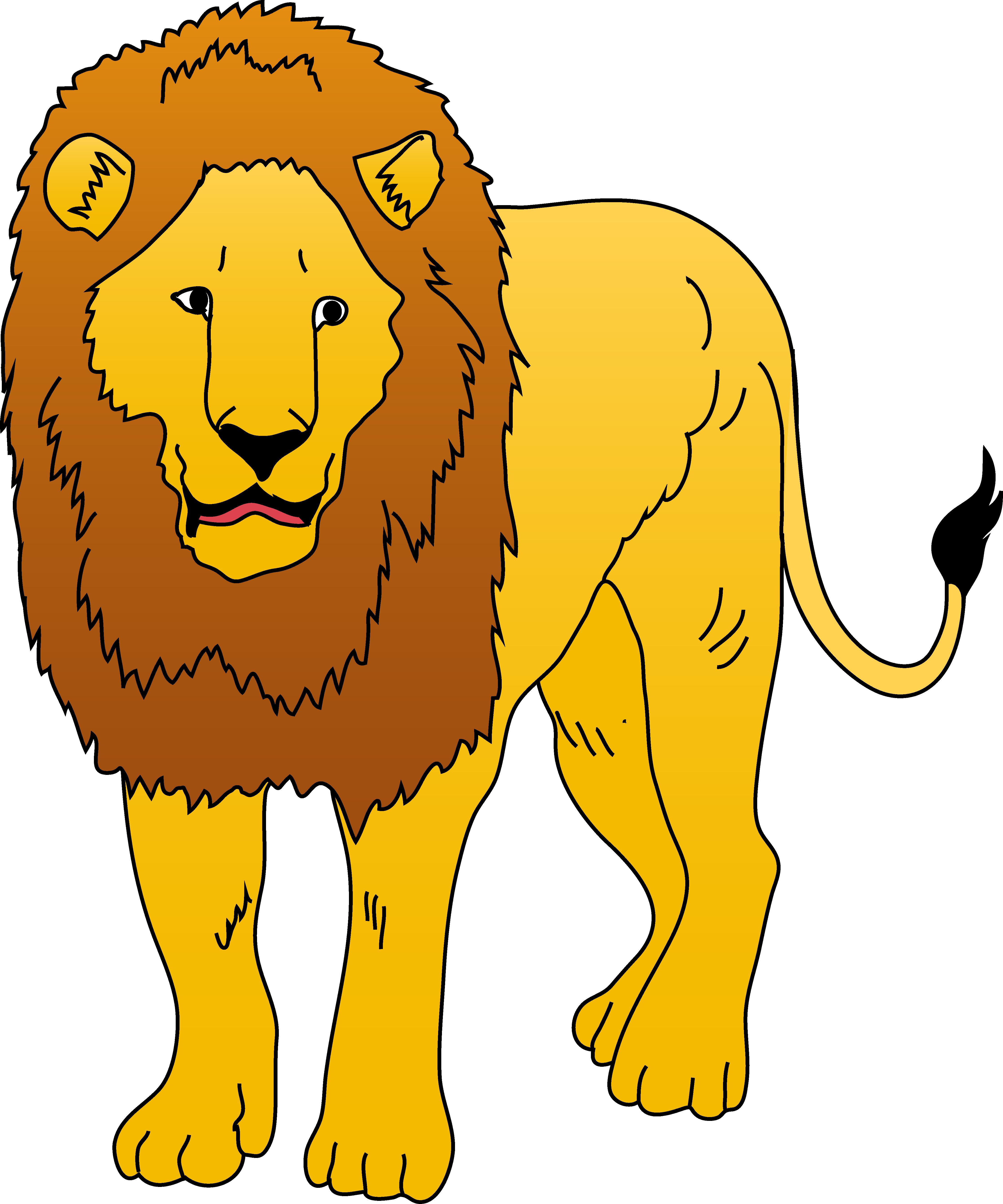 Free Lion Clipart - .-Free lion clipart - .-6