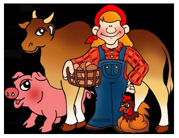 Free Livestock Clip Art by .