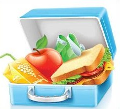 Free Lunch Box Clipart