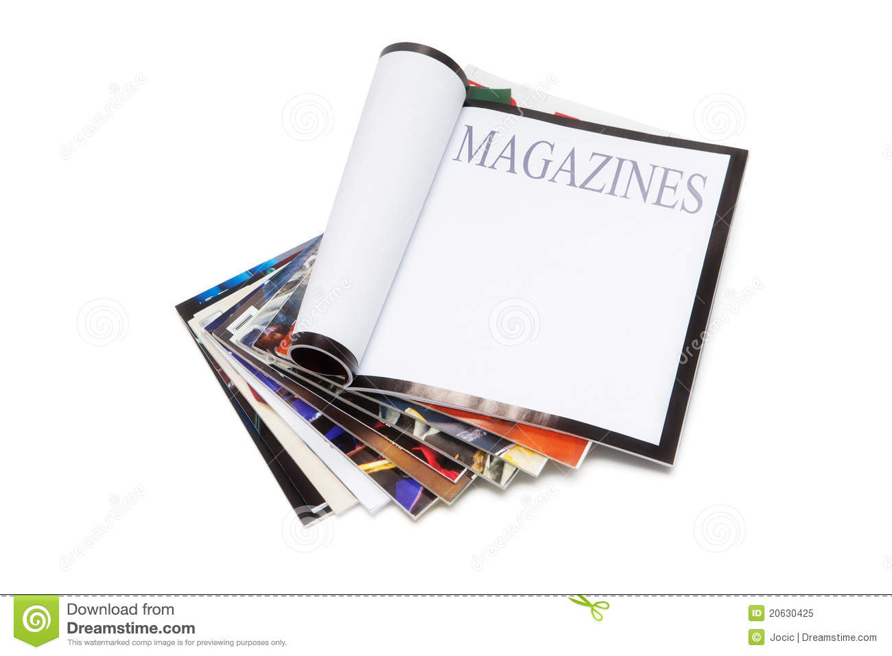 Free Magazine Clip Art