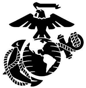 Free Marine Corps Clip Art. M - Marine Corps Emblem Clip Art