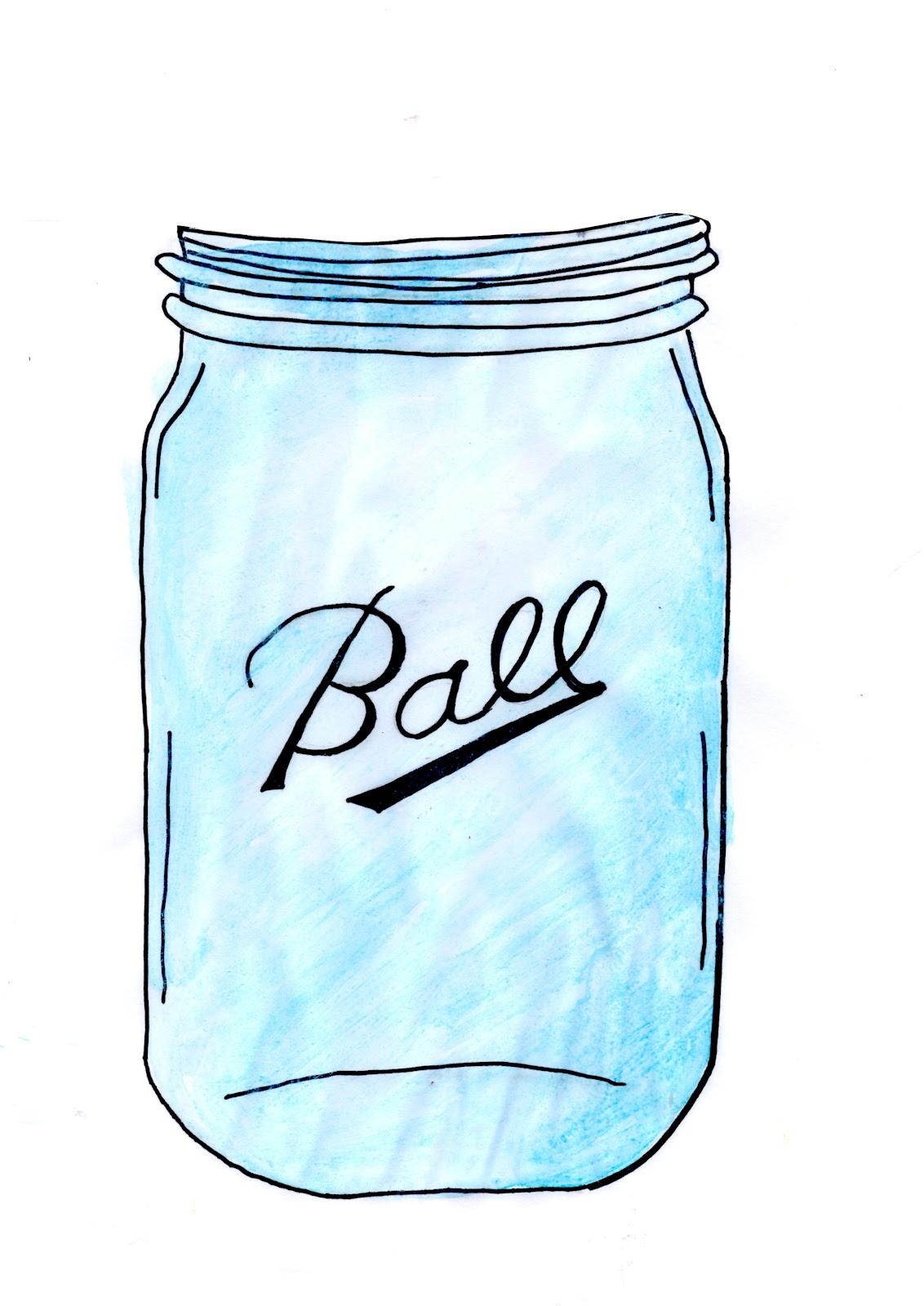 Free mason jar clip art twigg studios 2
