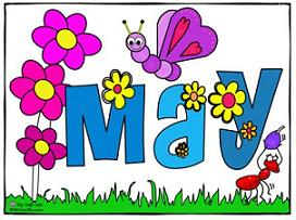 Free may clipart image