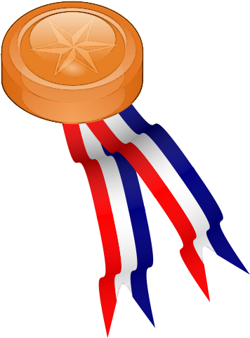 Free Medal Ribbons Clipart