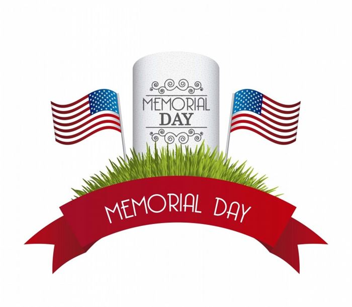 Free memorial day clipart .