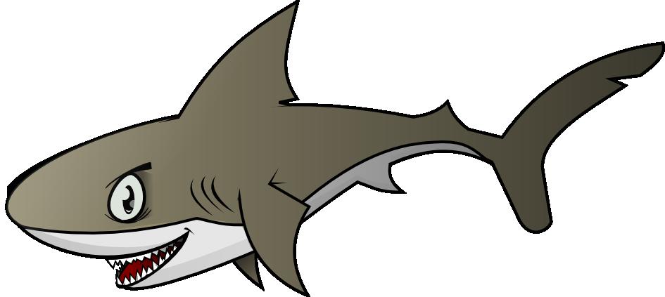 Free Menacing Shark Clip Art