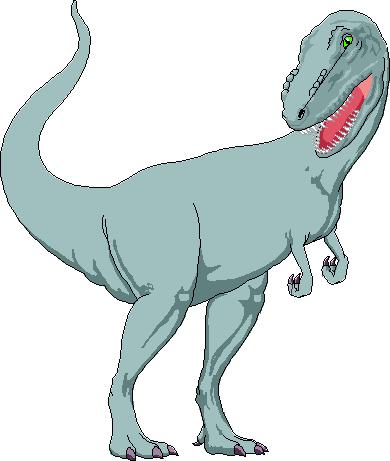 Free Menacing T-Rex Clip Art