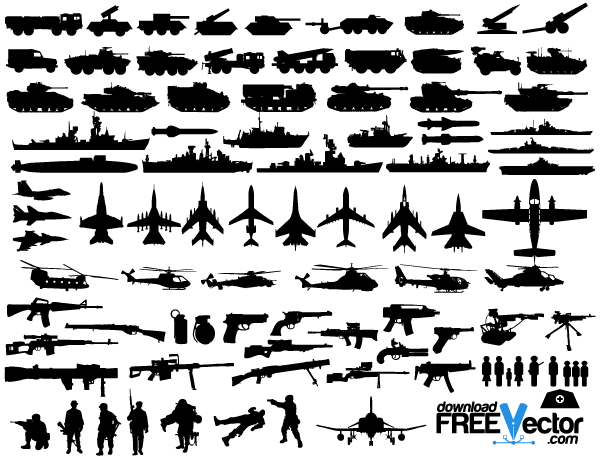 Free Military Vector Clip Art-Free Military Vector Clip Art-9