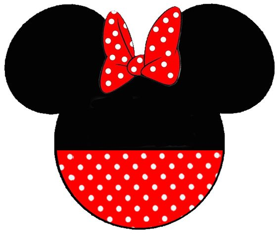 Free Minnie Mouse Clip Art for t-shirts for our VACATION!