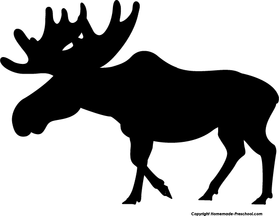 Free moose clipart free clipart graphics images and photos image 6
