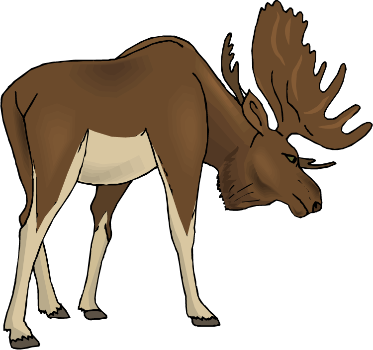 Free Moose Clipart-Free Moose Clipart-10