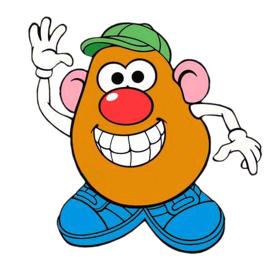 Free Mr Potato Head Clip Art