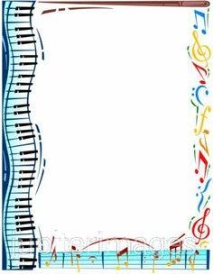 Free Music Borders Clip Art ..