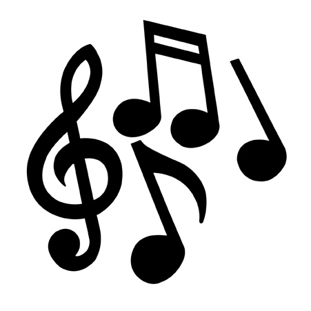 Free music note clipart. Music Notes