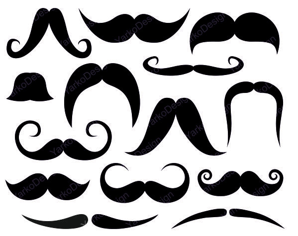 Free Mustache Clip Art - clipartall