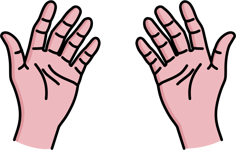 Free My Two Hands Clip Art-Free My Two Hands Clip Art-2