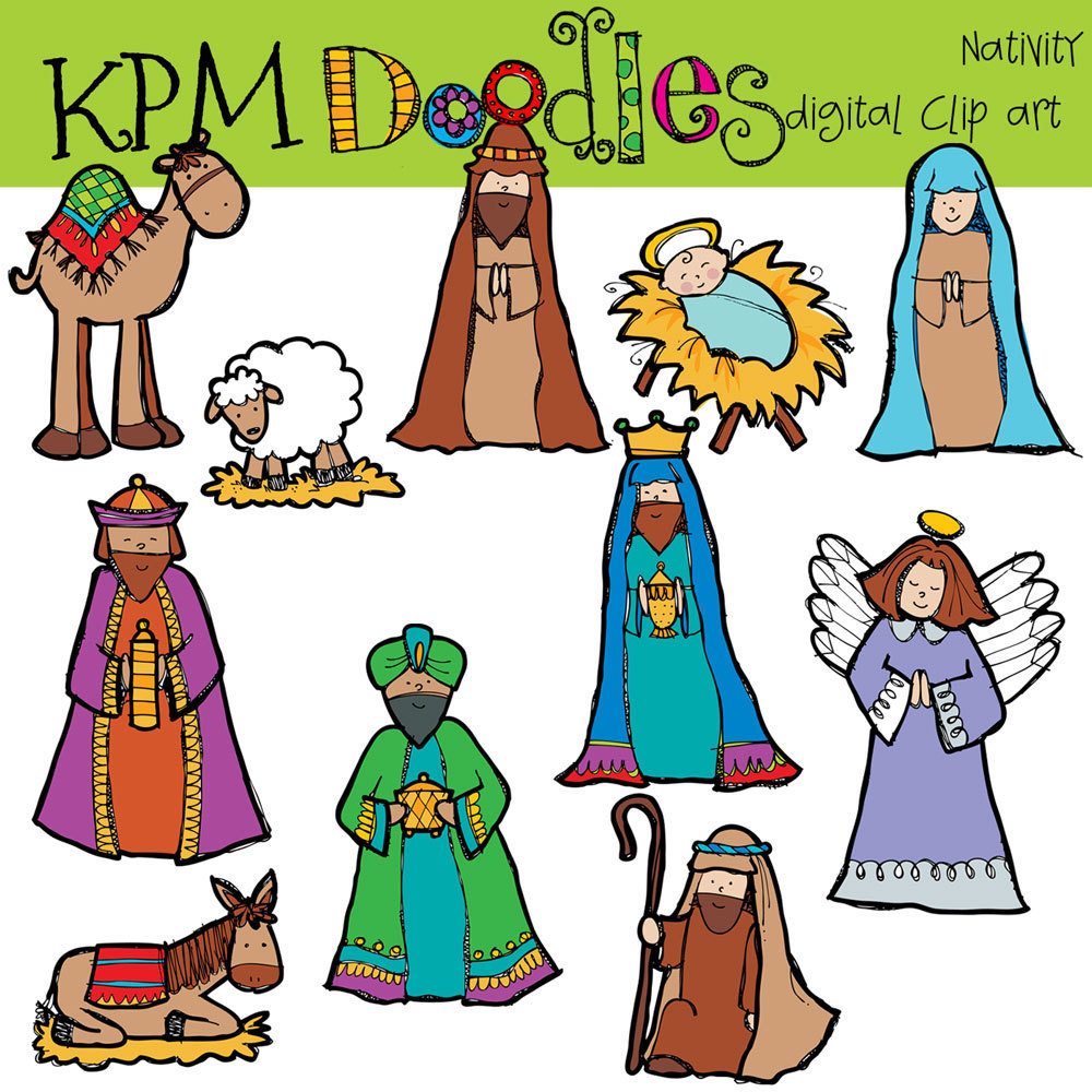 Free Nativity Clipart-Free Nativity Clipart-3