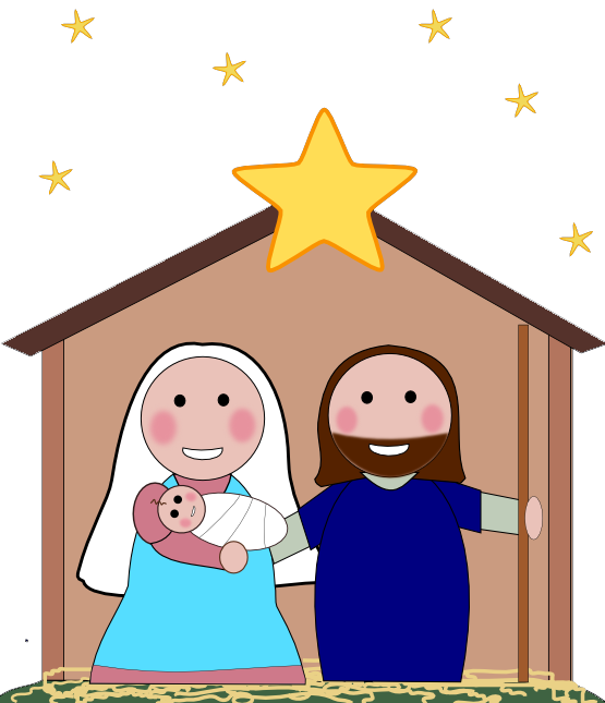 Free Nativity Clipart-free nativity clipart-7