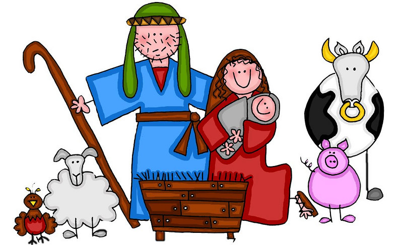 Free Nativity Clipart-free nativity clipart-8