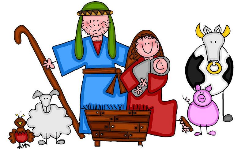 Free Nativity Clipart .-Free Nativity Clipart .-7