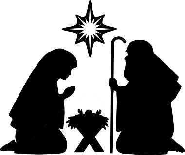 Free Nativity Silhouette .-Free Nativity Silhouette .-8