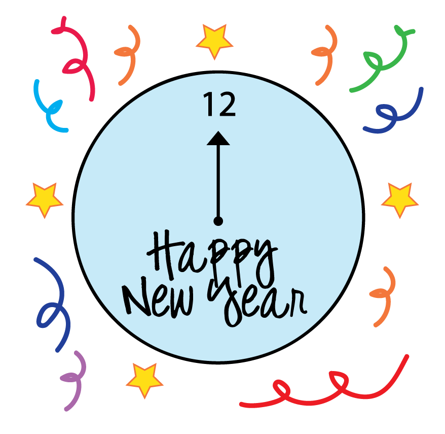 Free New Years Clipart .